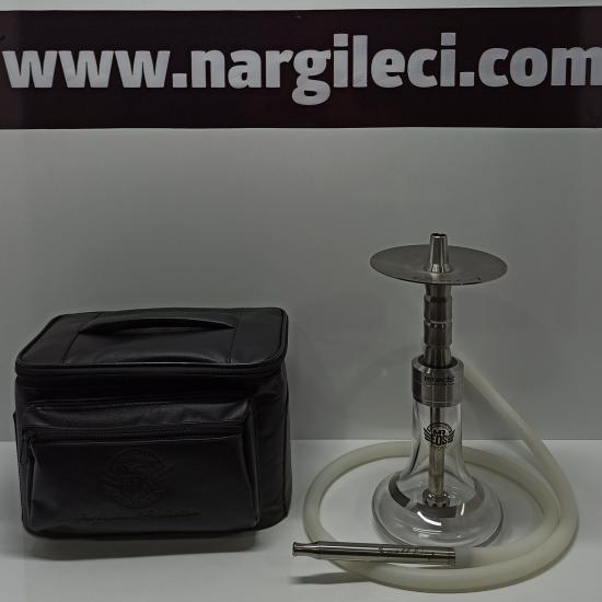 Mr. Eds  E23 Small King Nargile Takımı Silver-Black